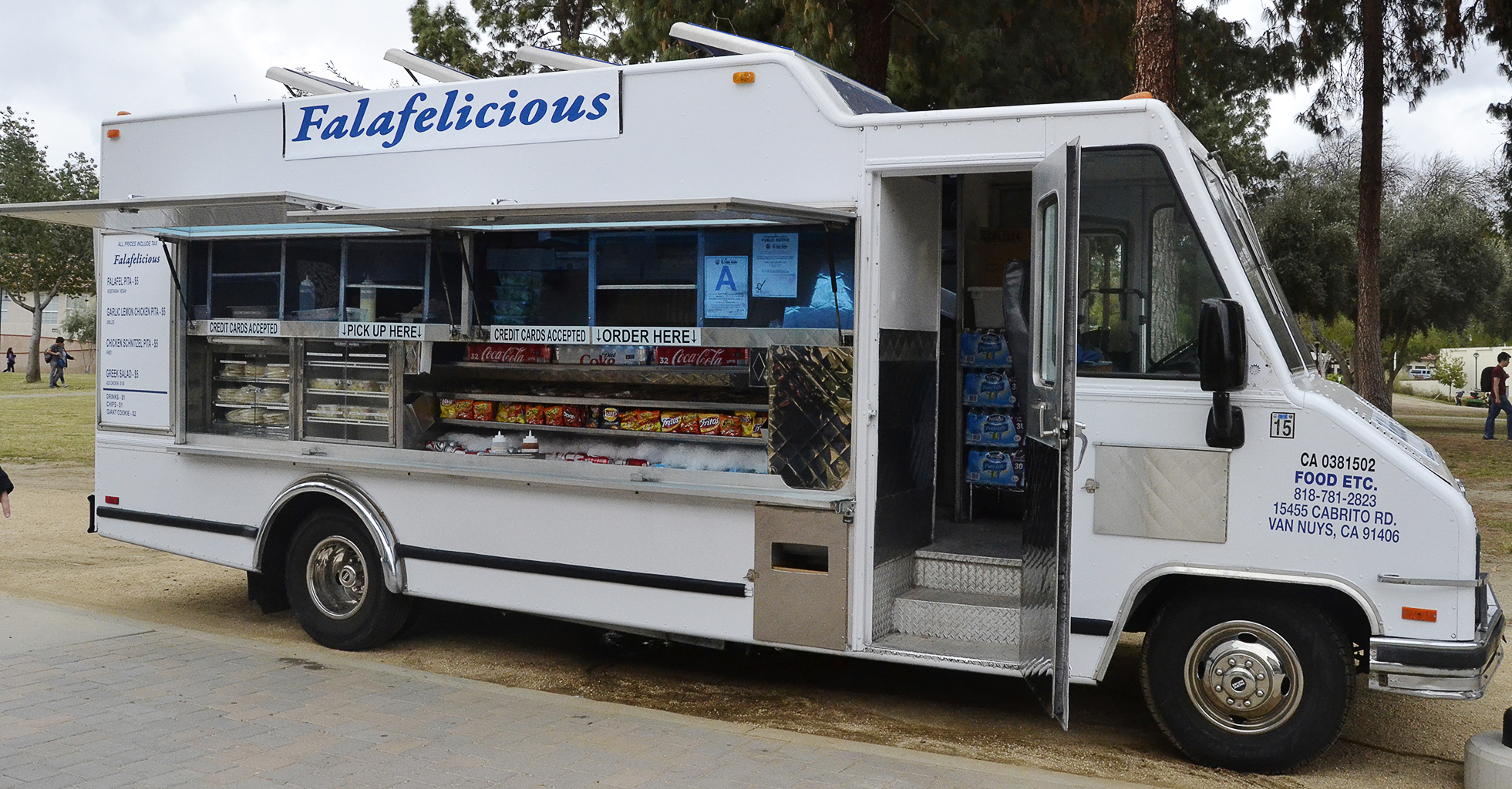 New Food Truck On Campus
