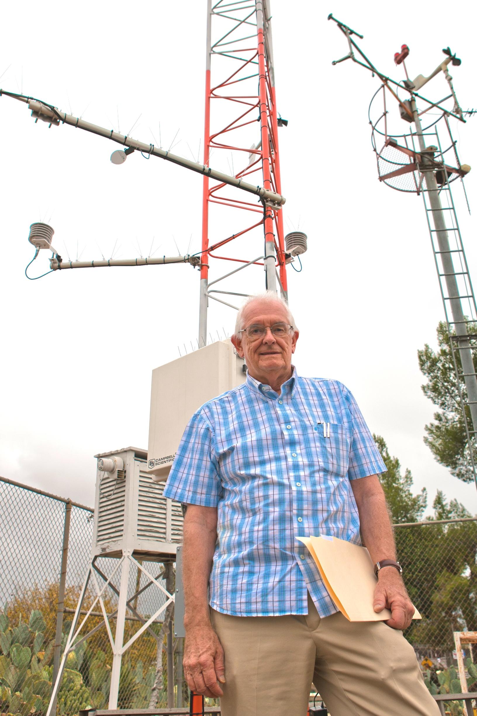Professor William Russell dies of heart attack