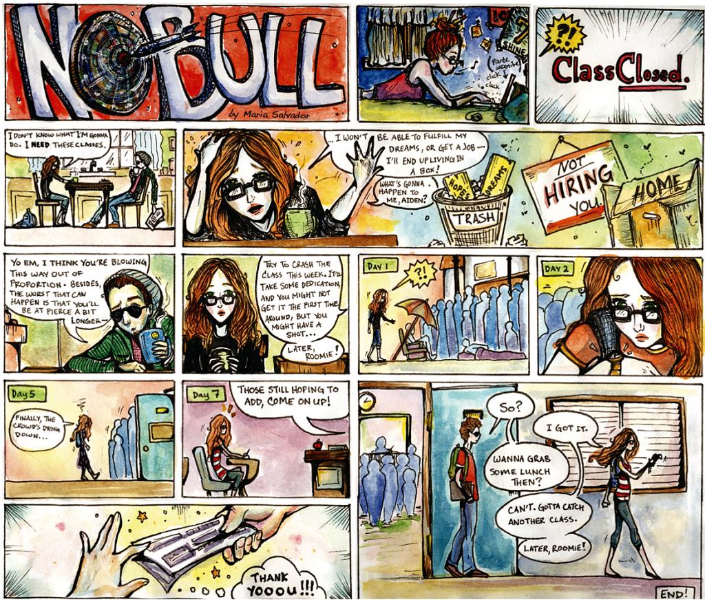 Comic By: Maria Salvador