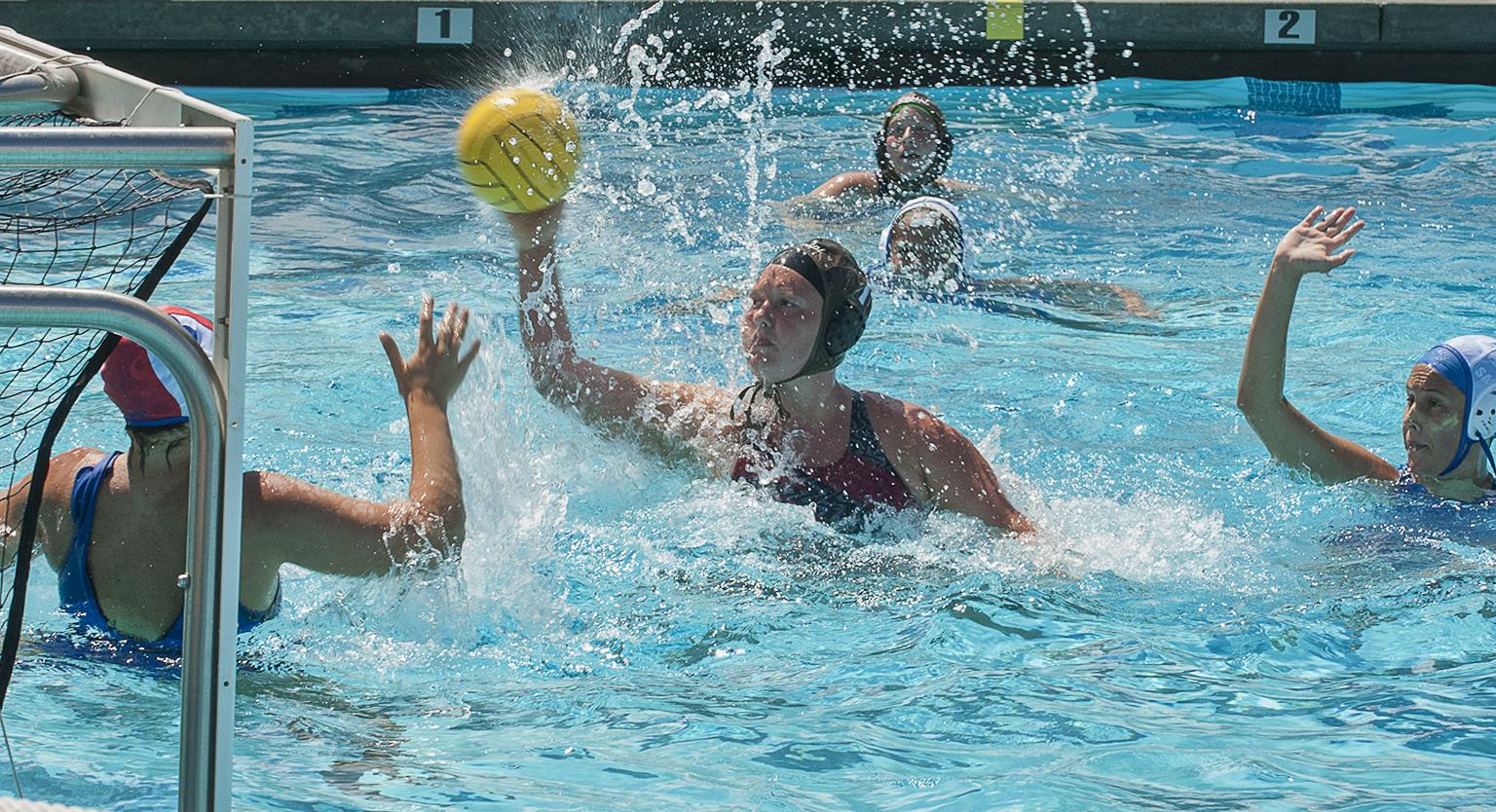 Women's water polo team wins inaugural match