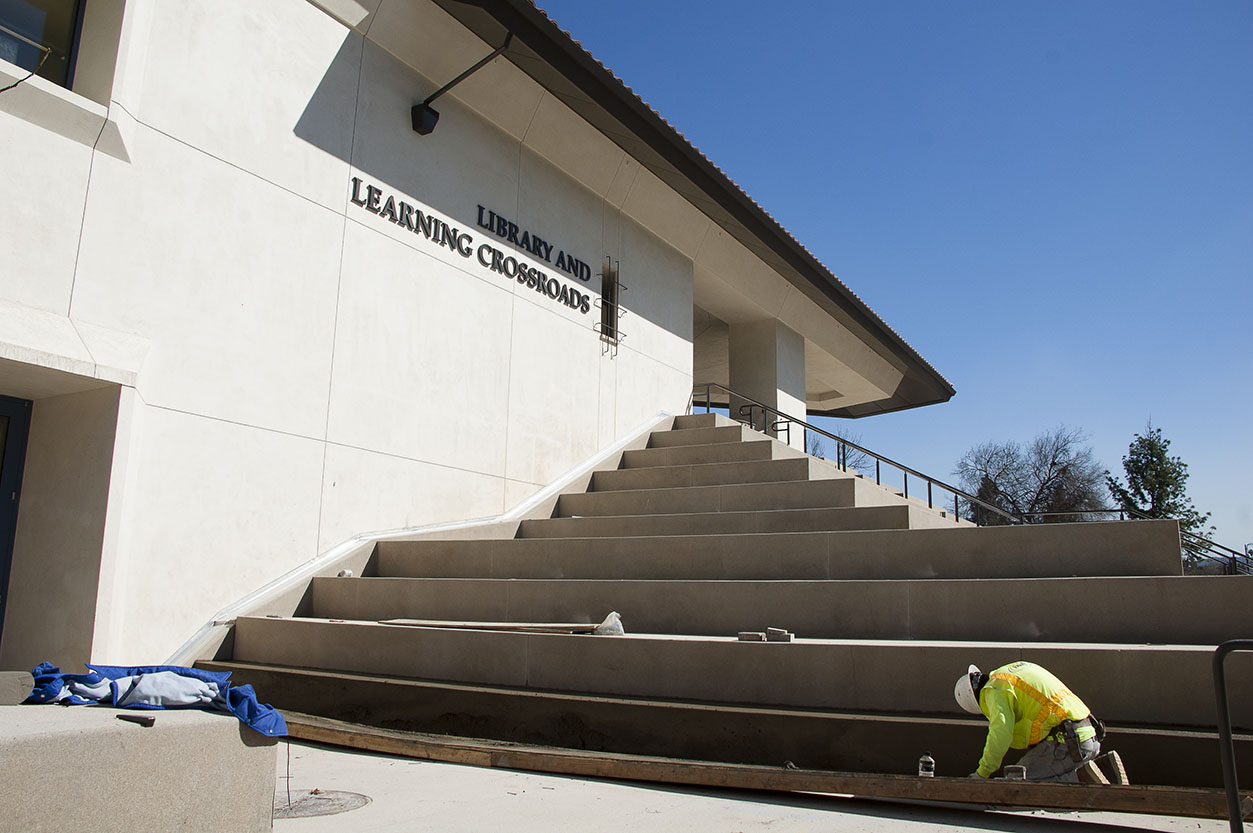 Newly-constructed library to open after spring break