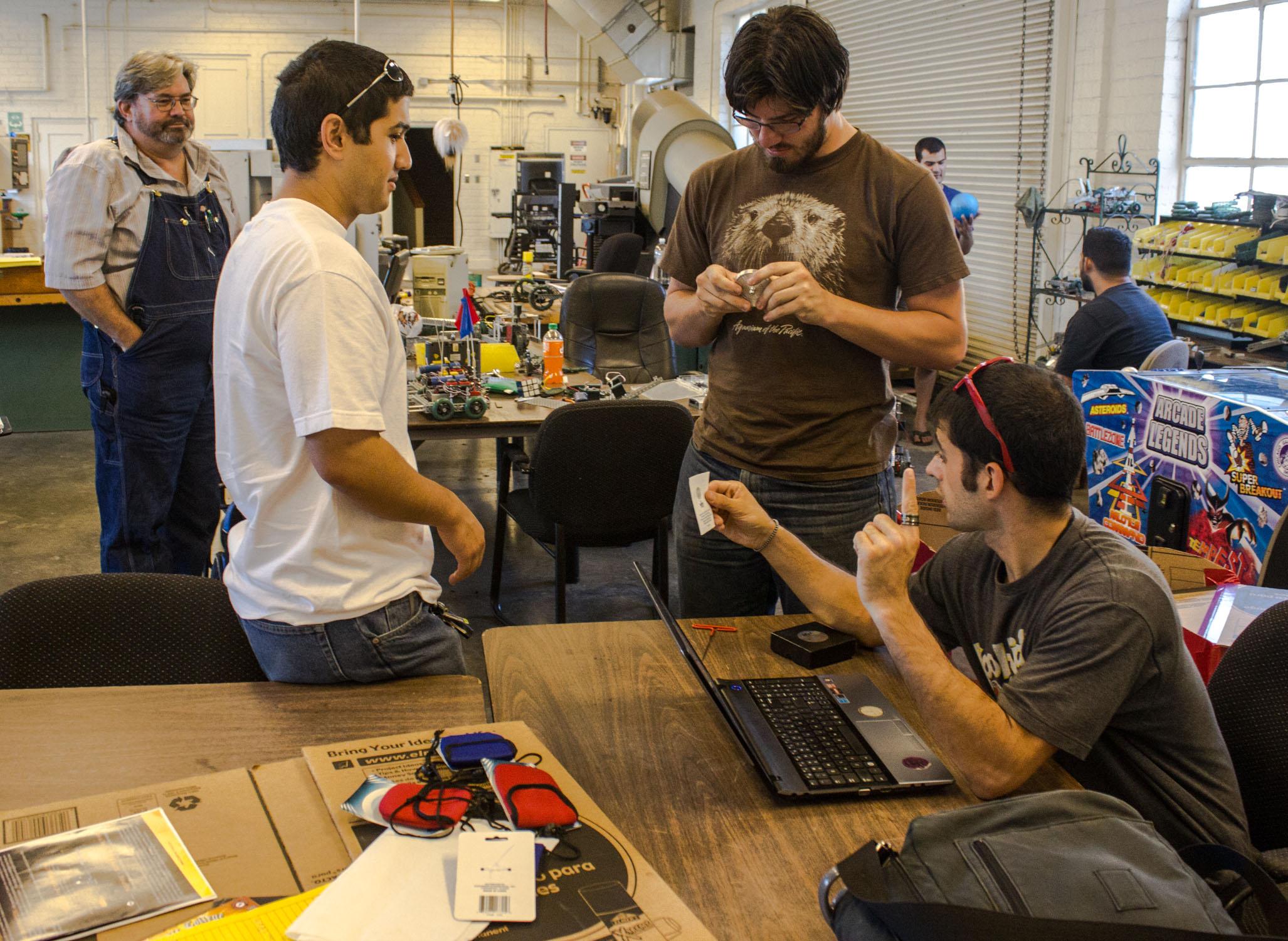 Club 411: Robotics Club 2013