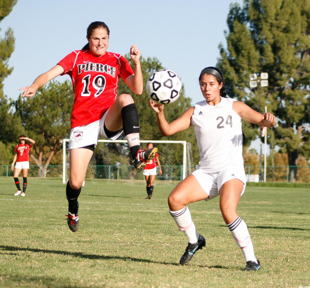 PHOTO SLIDESHOW: Soccer: Pierce vs. Moorpark