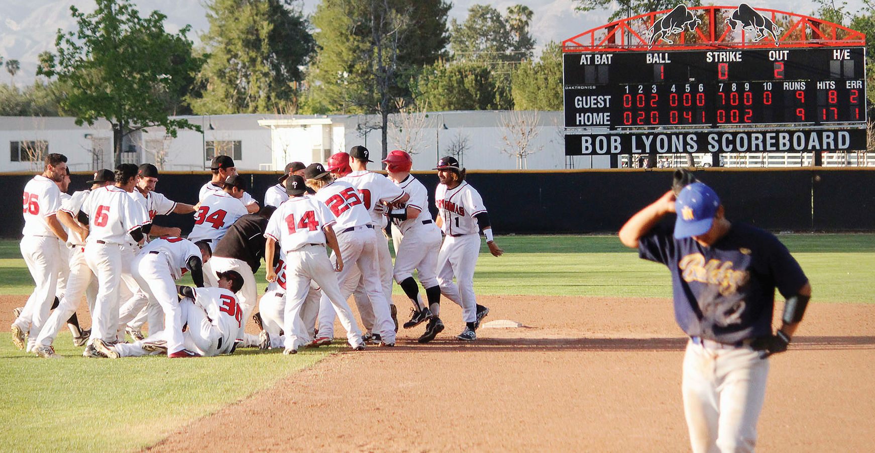 Late game heroics give Pierce baseball home victory