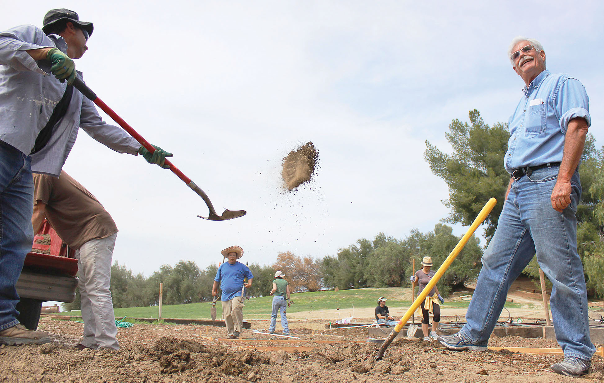 Agriculture class weathers drought with water conservation project