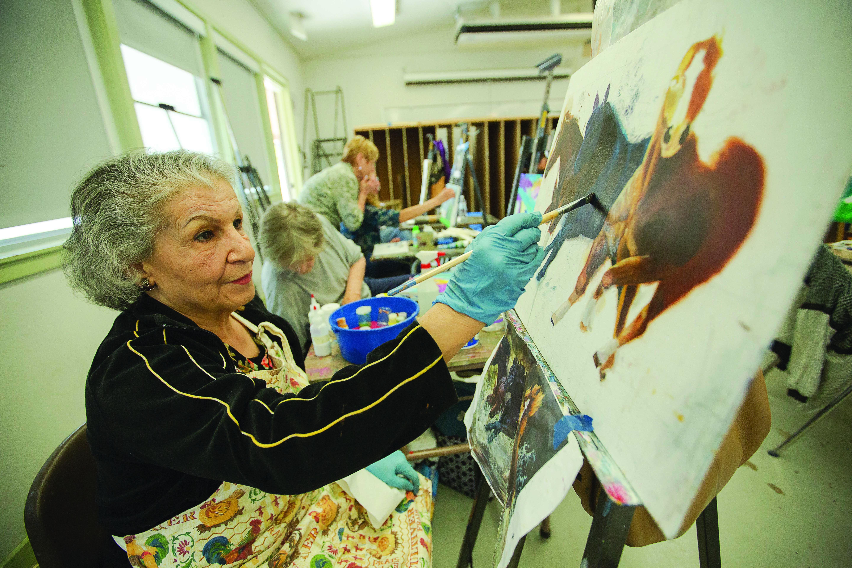 PHOTO SLIDESHOW: Ageless Art