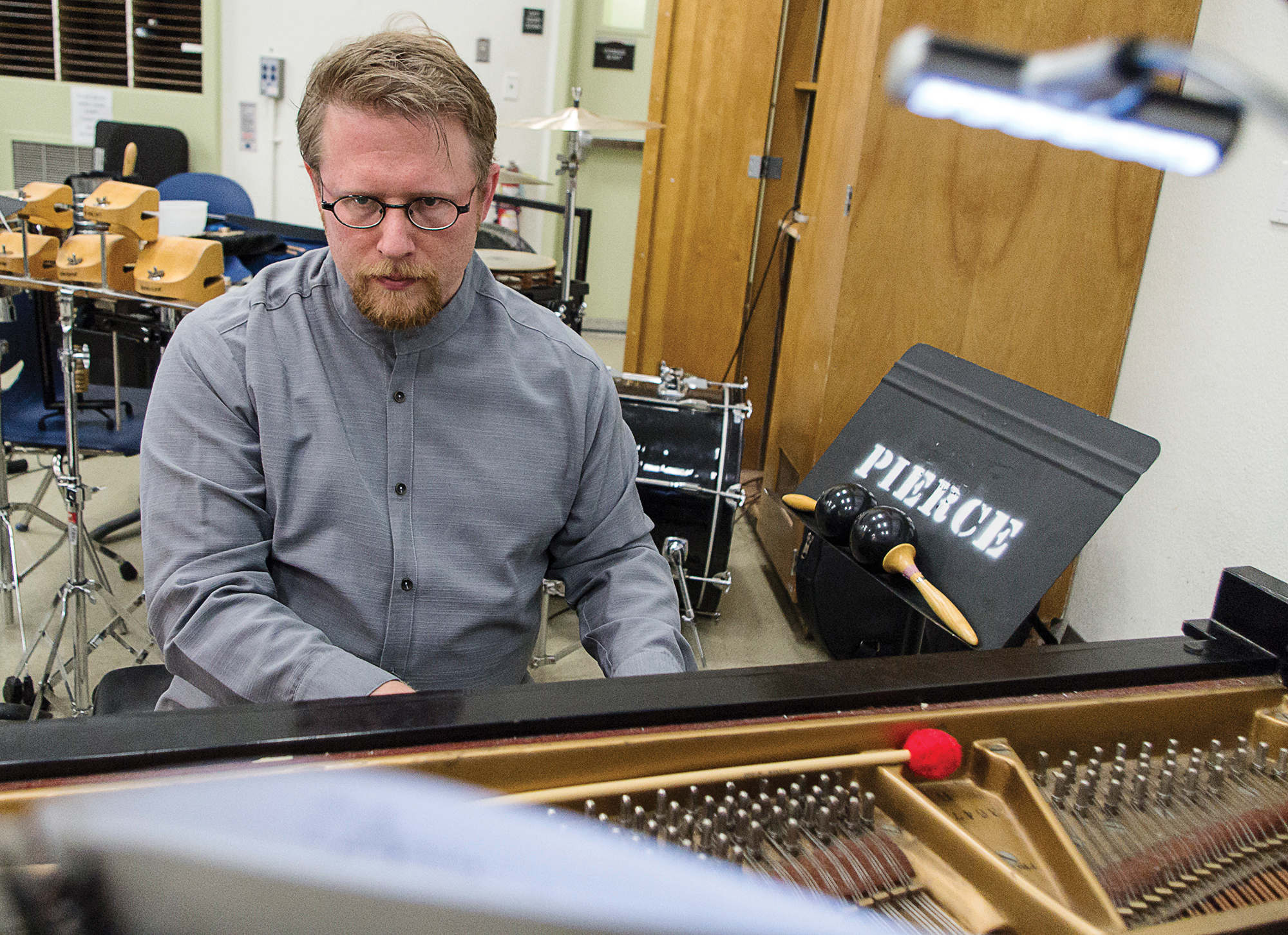 Pierce students attend concert by The Varied Trio