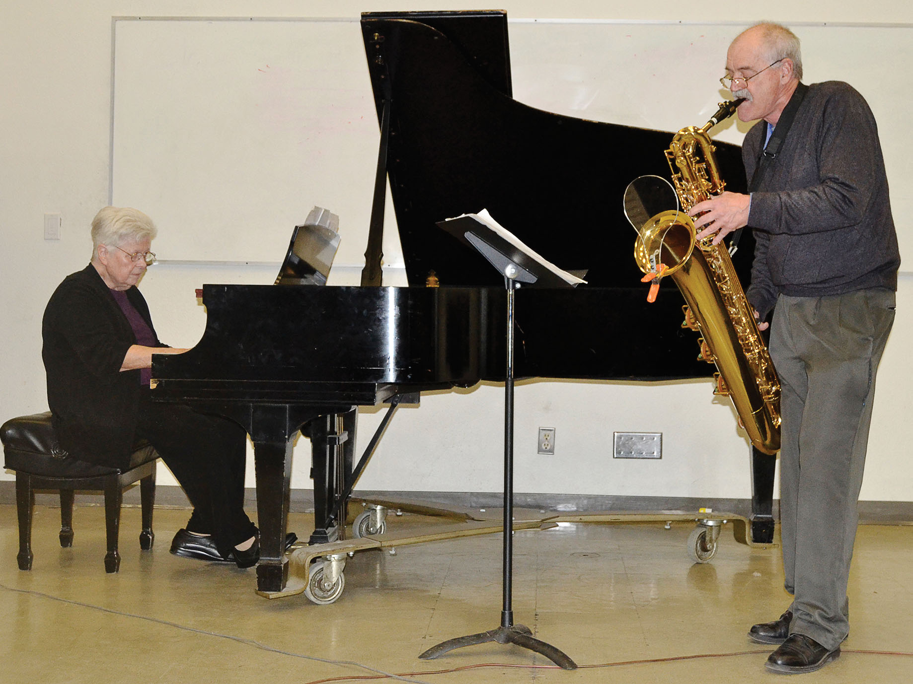 Concert Review: concerts at Pierce incorporate a variety of melodies