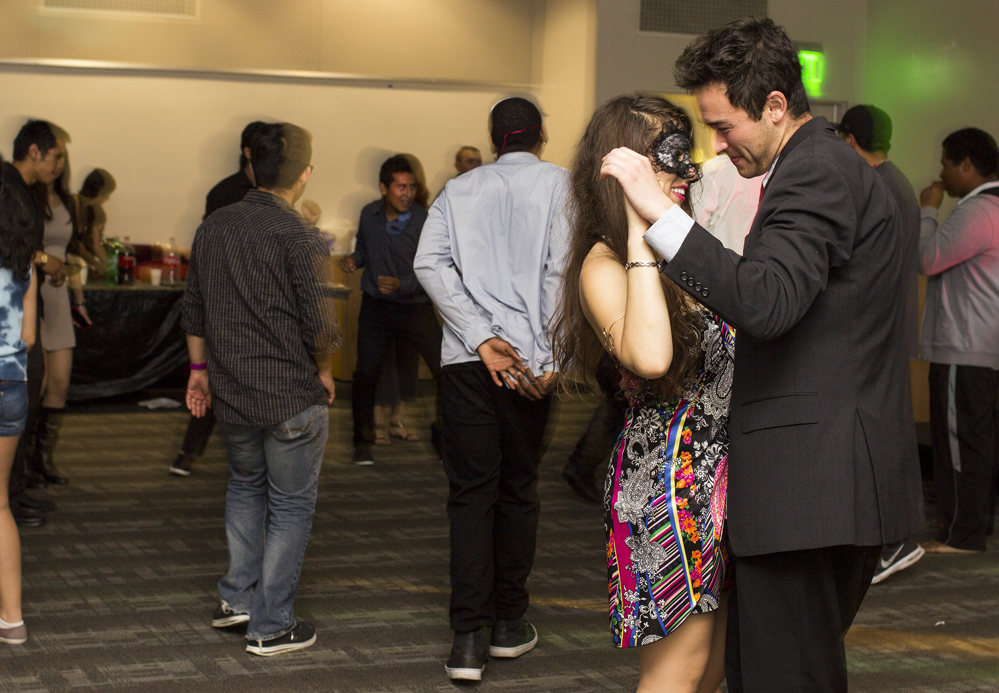 Masquerade Dance gives students a chance to mingle at Pierce