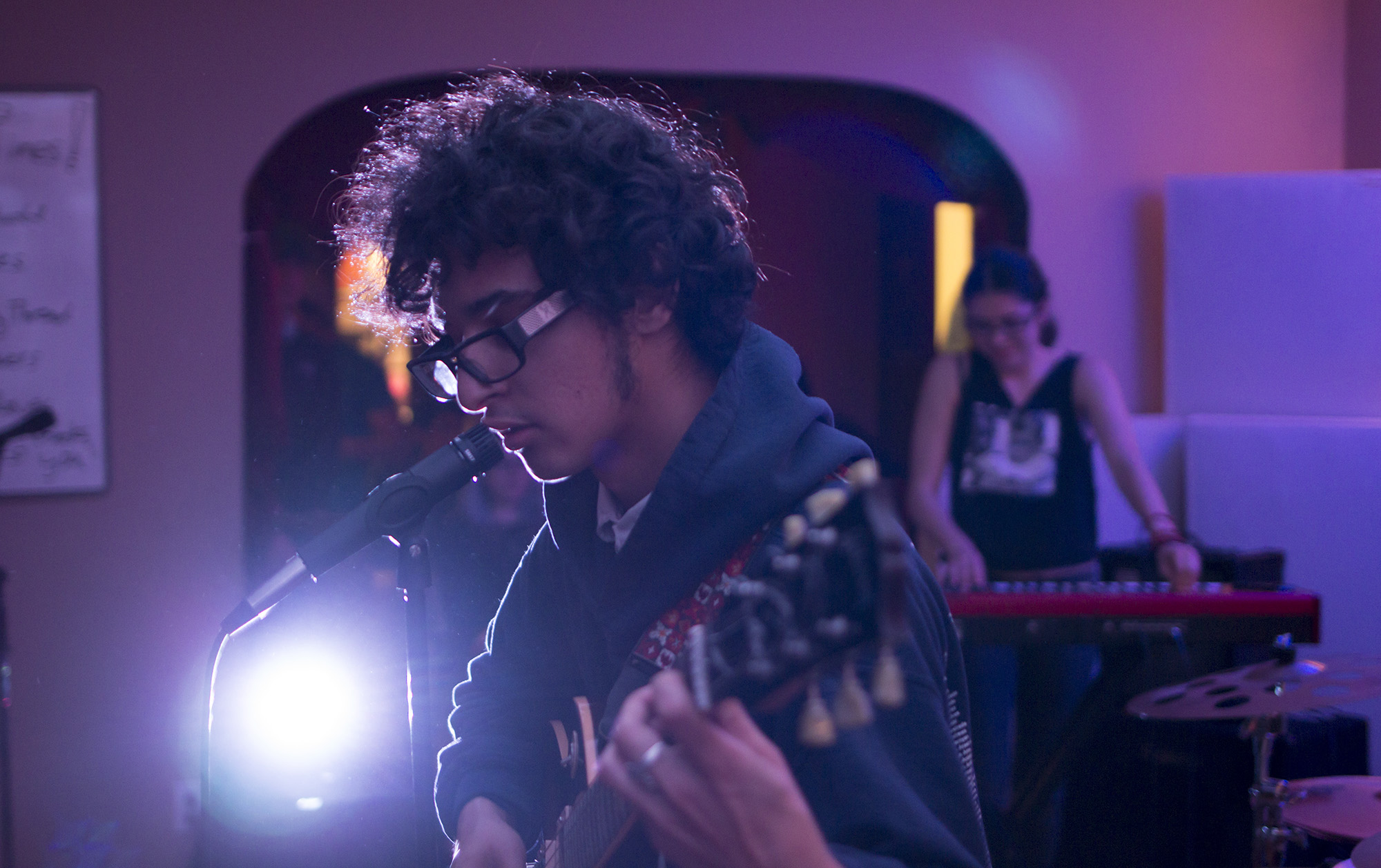 Pierce College students connect through music band show in Granada Hills