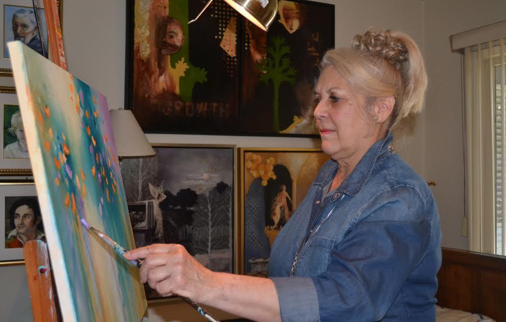 Award-winning artist refines skills at Pierce