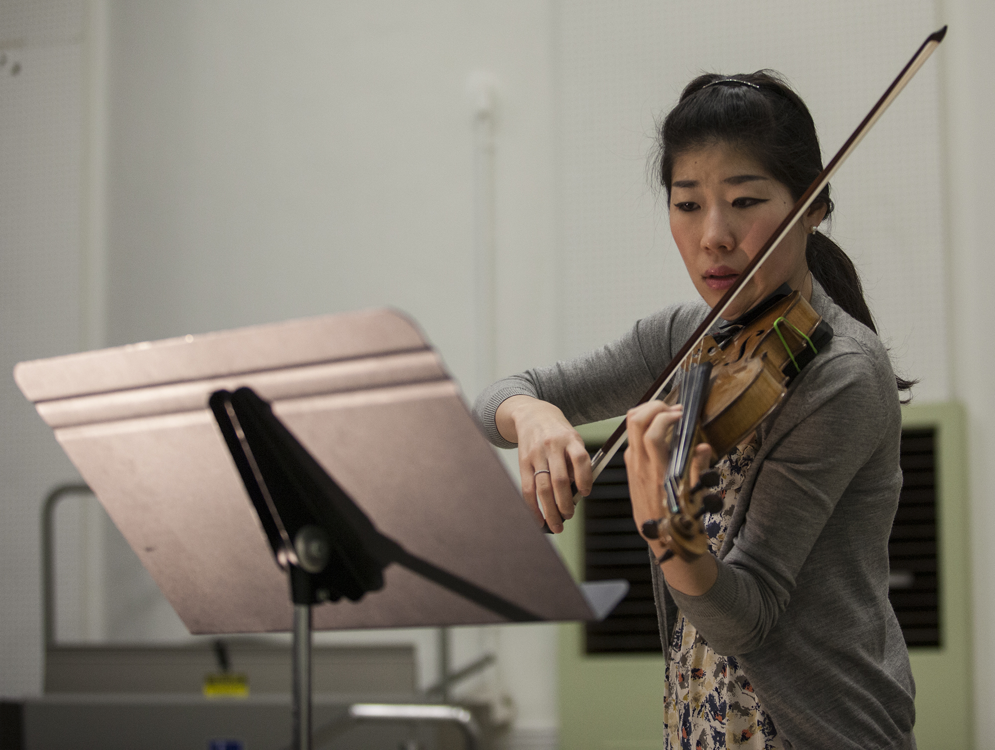 Concert at Pierce hosted violinist Ji Young An