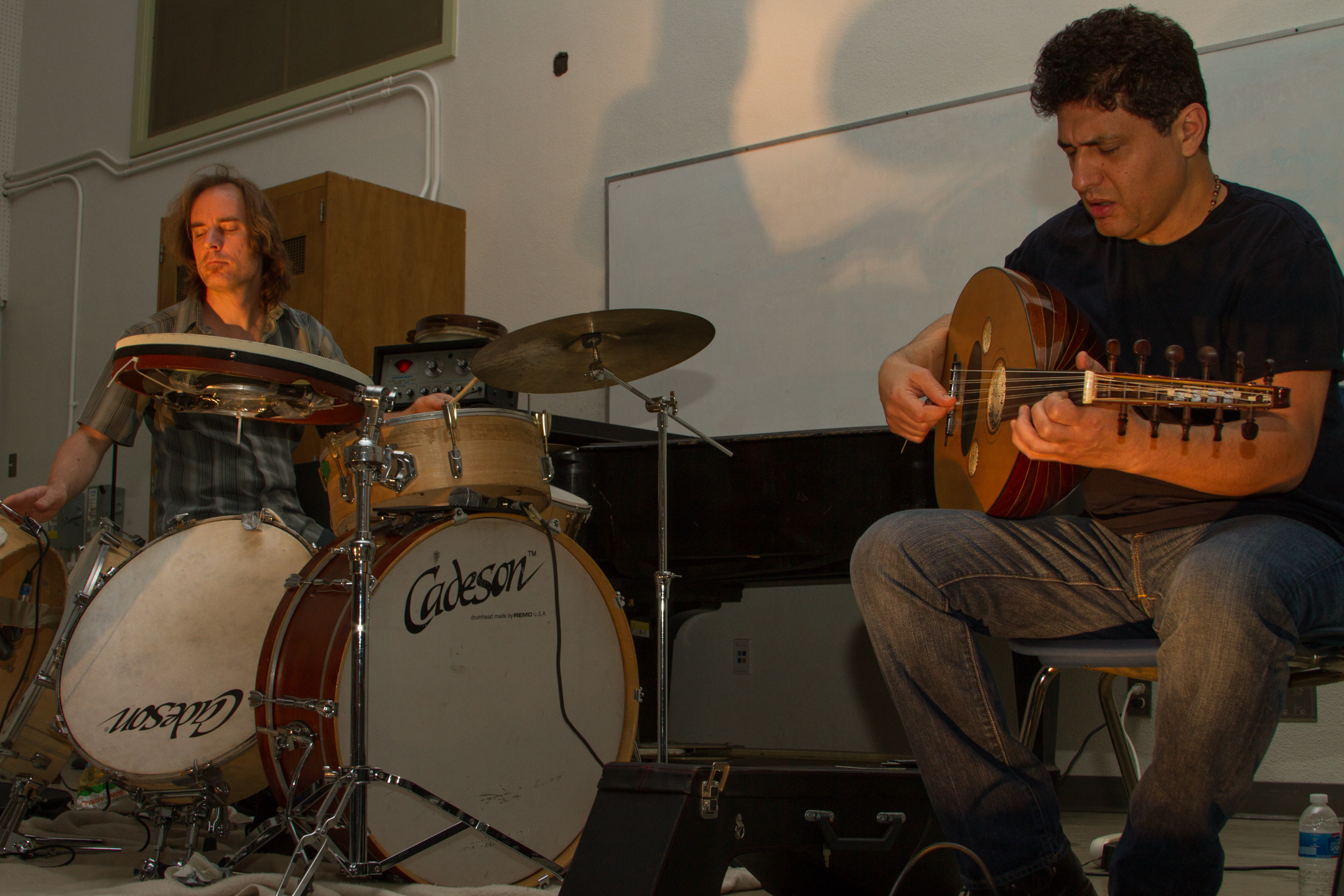 Musical group Wahid performs Middle-Eastern melodies at Pierce