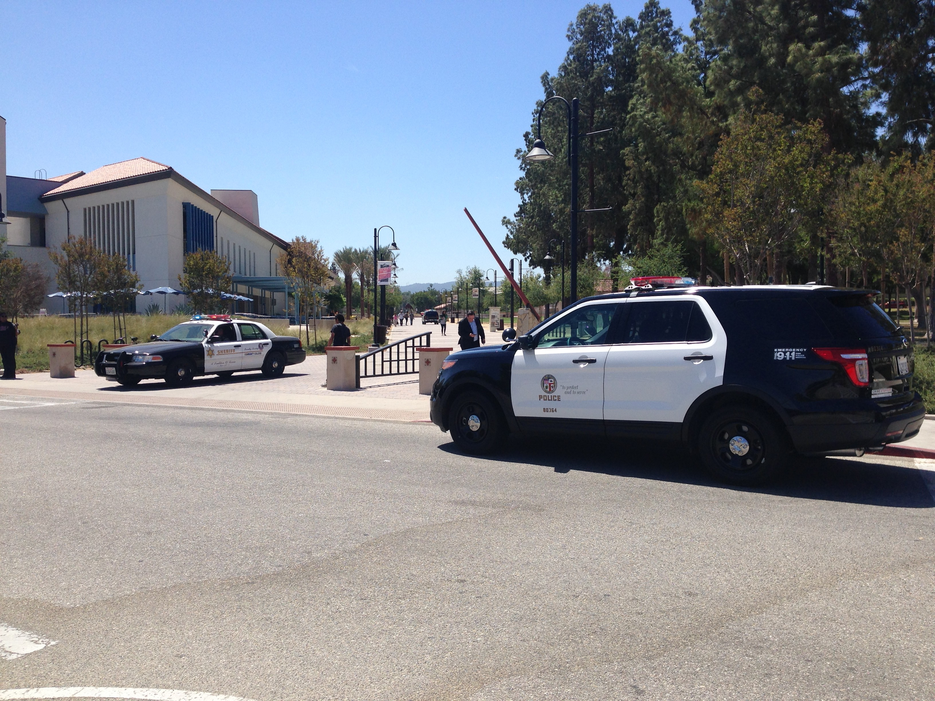 BREAKING NEWS: Pierce College campus evacuated after possible armed man is spotted