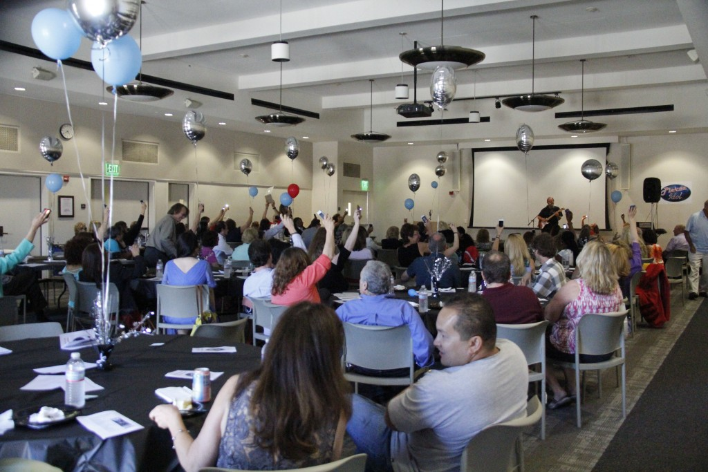 Faculty members celebrated with awards and performances at commencement gala