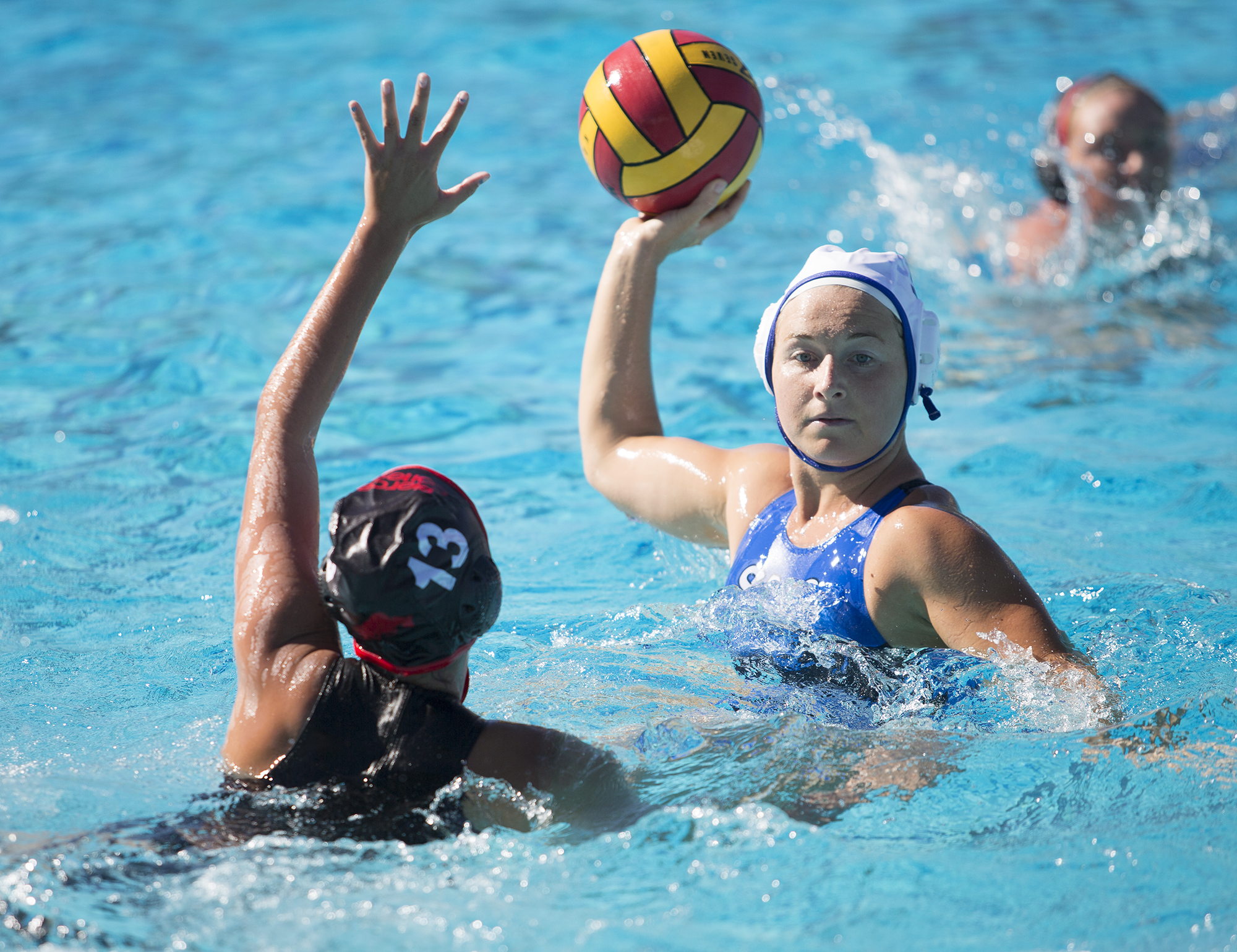 Pierce shows no mercy on Santa Monica water polo team