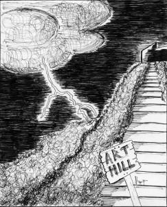 NICK PART - Ed Toon - Spooky Art Hill