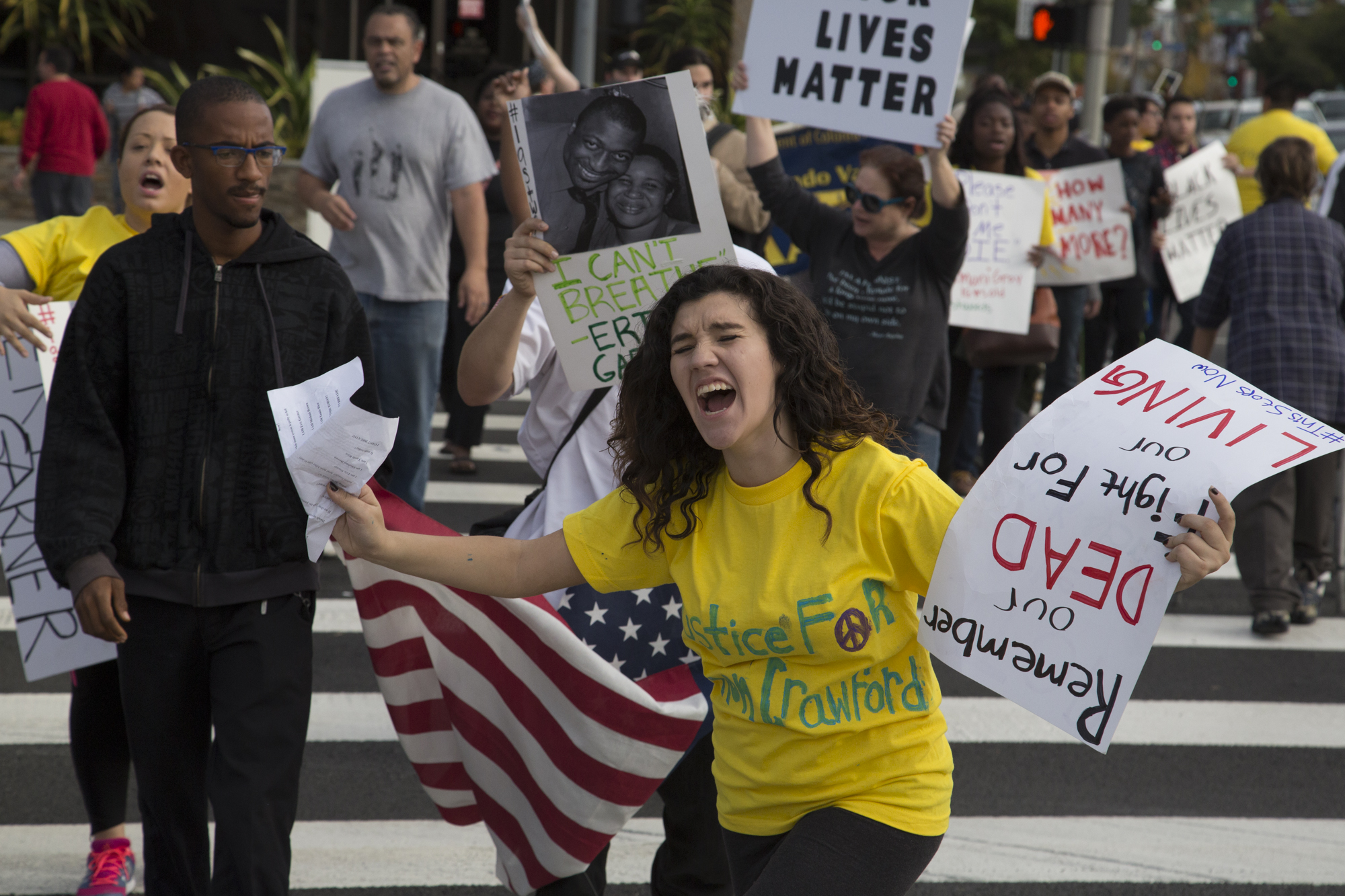 Students organize protest