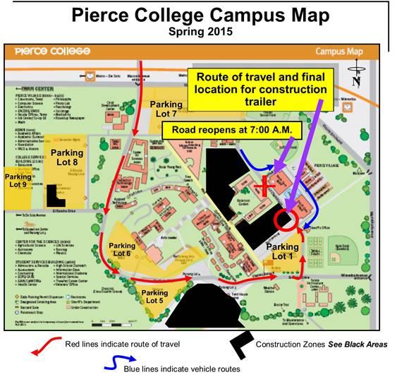 Pierce College Campus Map Pierce College Campus Map | compressportnederland Pierce College Campus Map