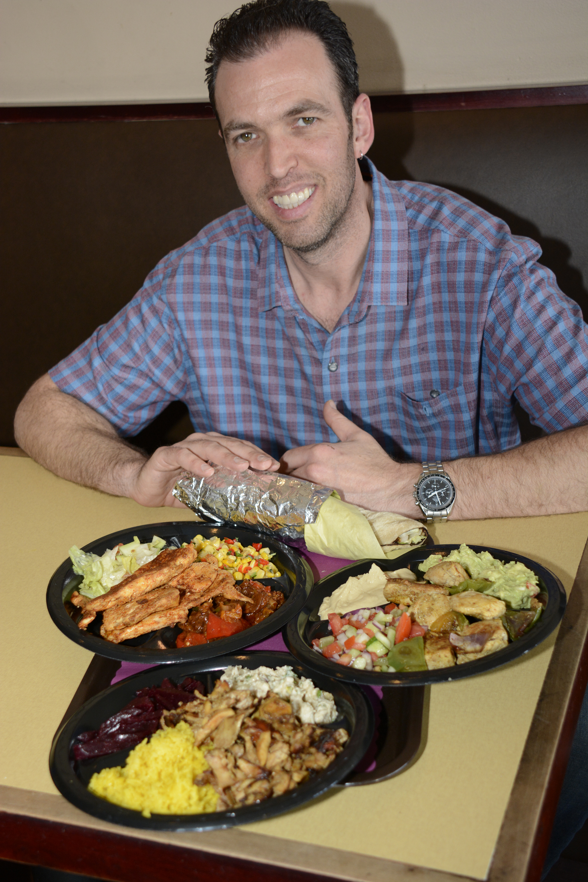 Falafelicious owner opens new restaurant