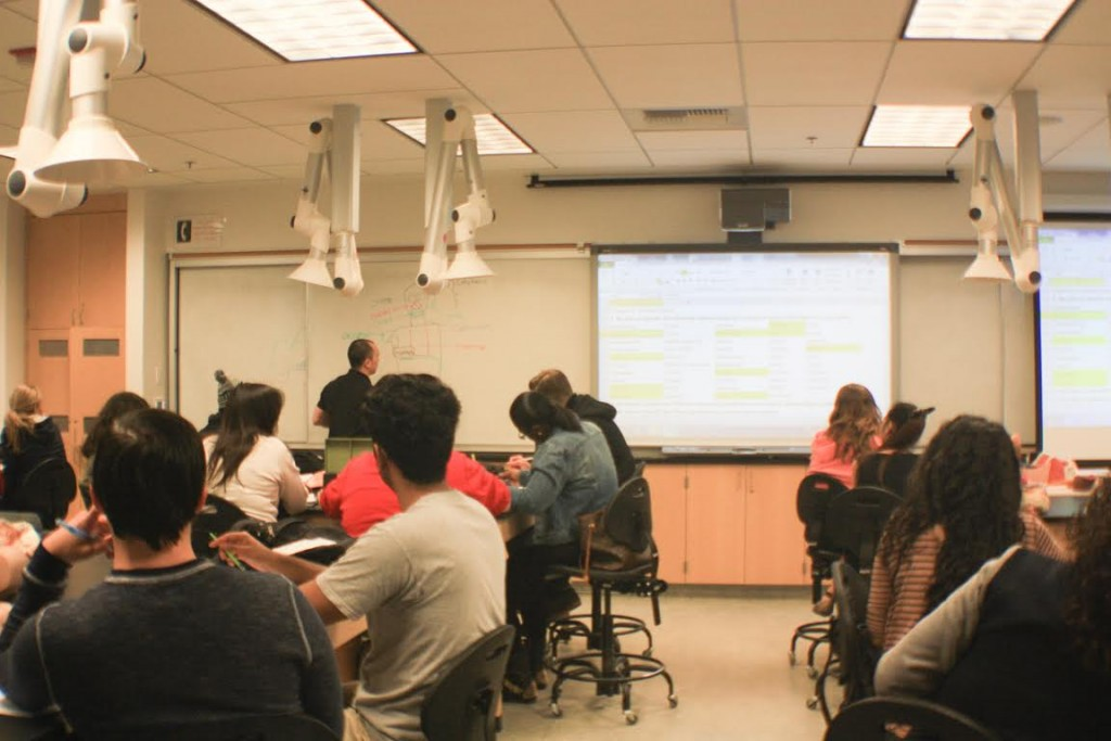 Students in the smart Classrooms. By Cody Calderon