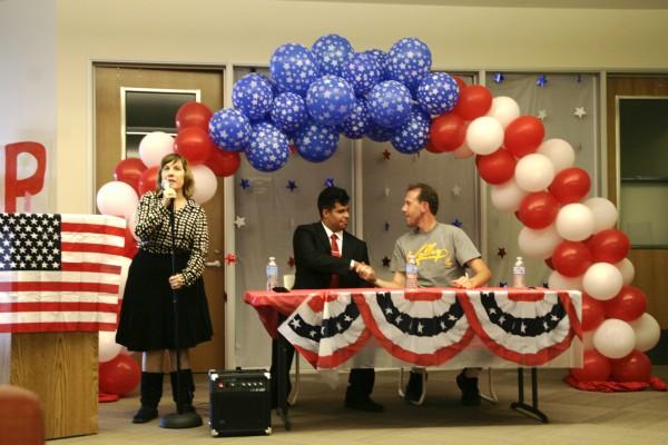 Student trustee candidates debate at Pierce