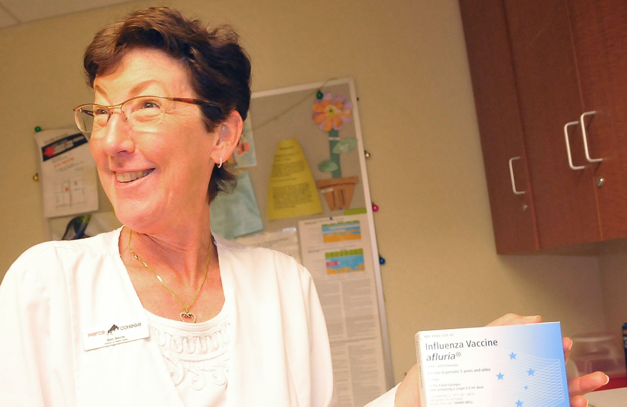 Flu vaccines now available at health center