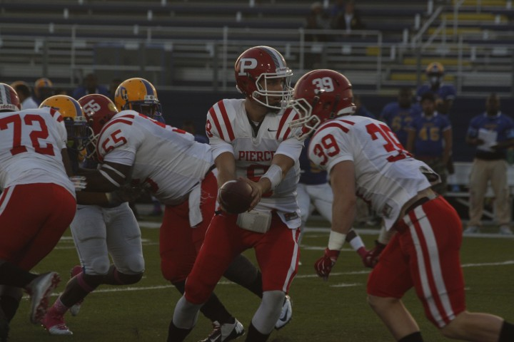 Football Rushes Its Way To Victory