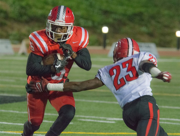 Football wins tight game