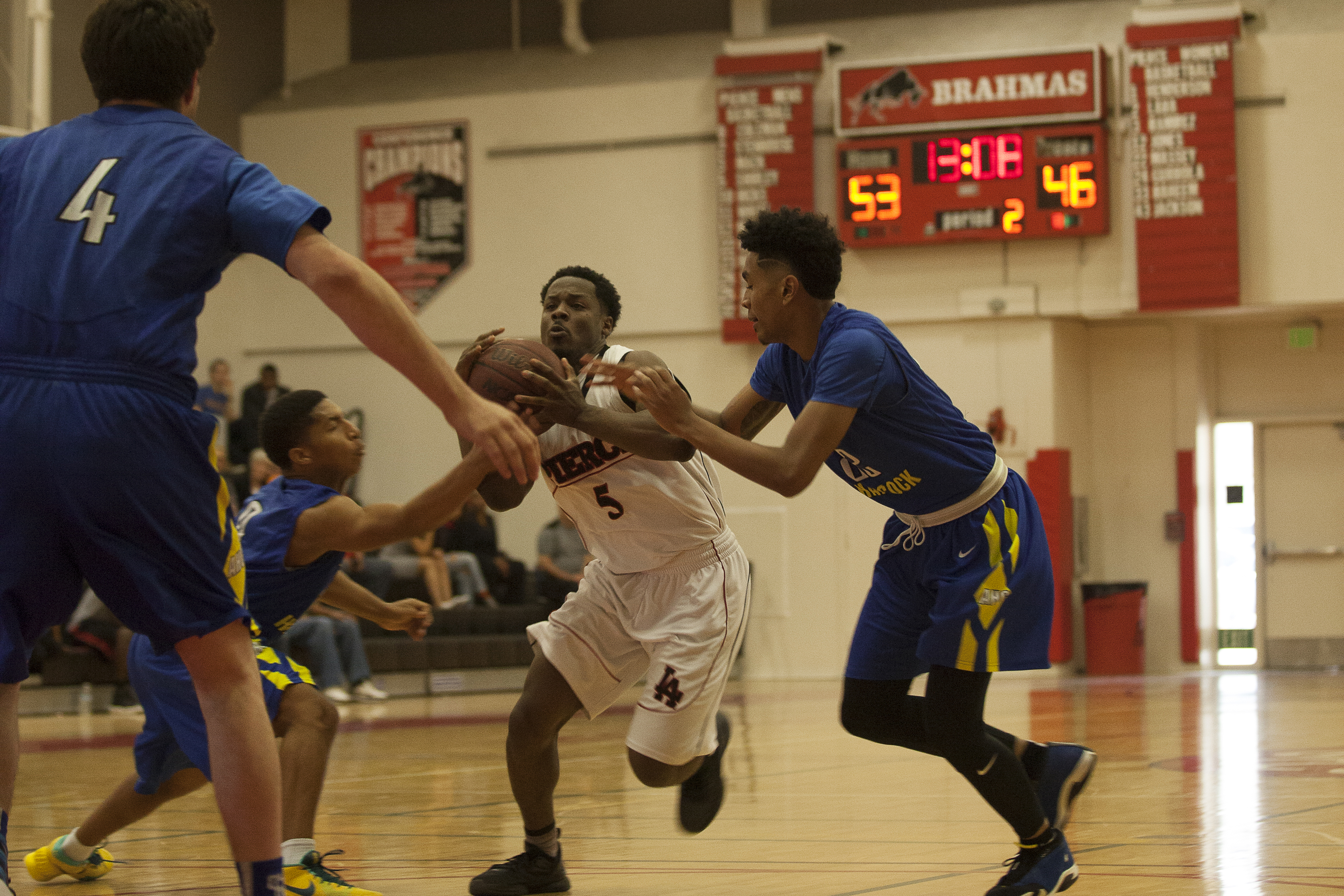 Second win for men's basketball with victory over Allan Hancock College