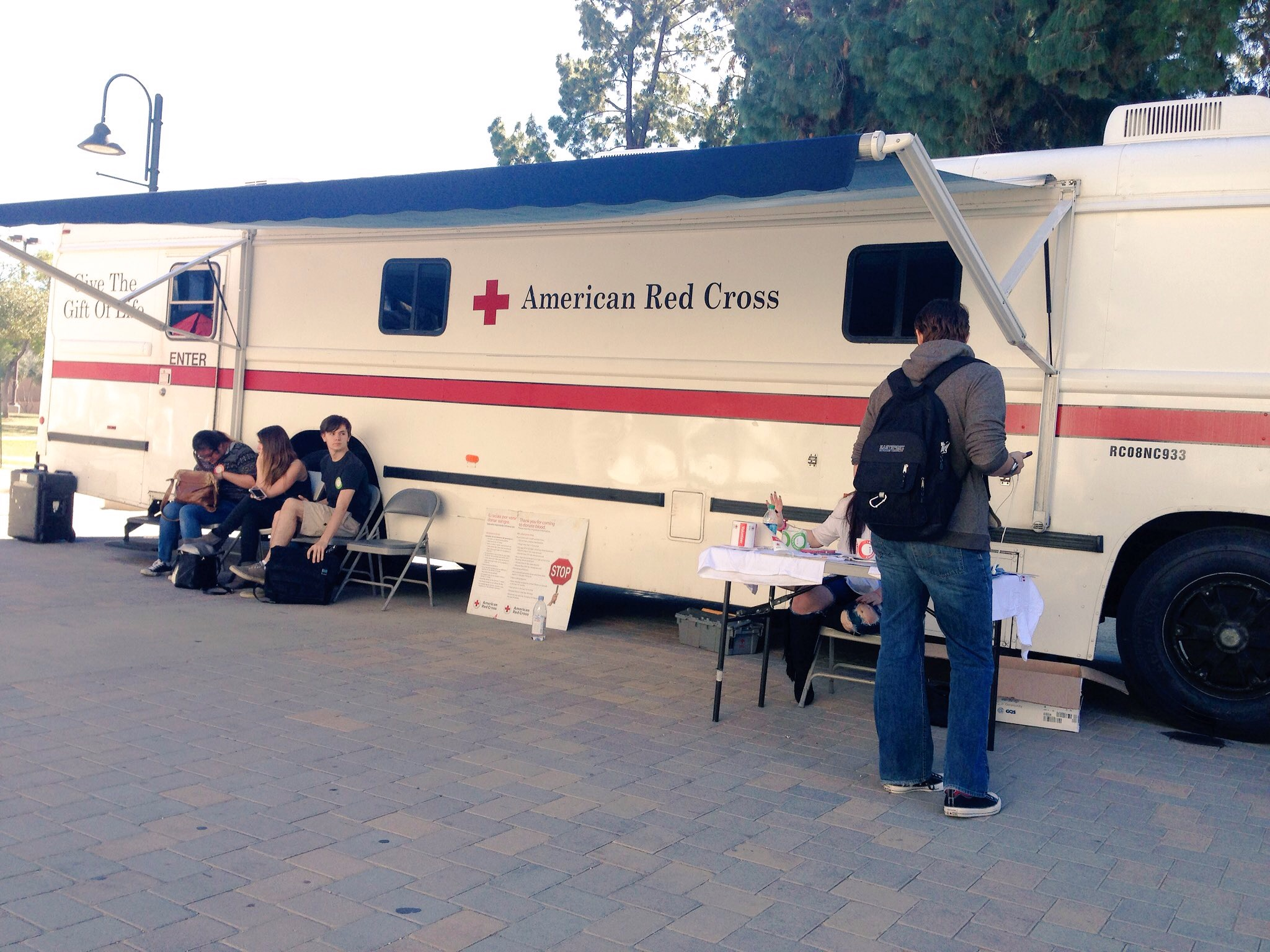 American Red Cross holds annual blood drive on campus