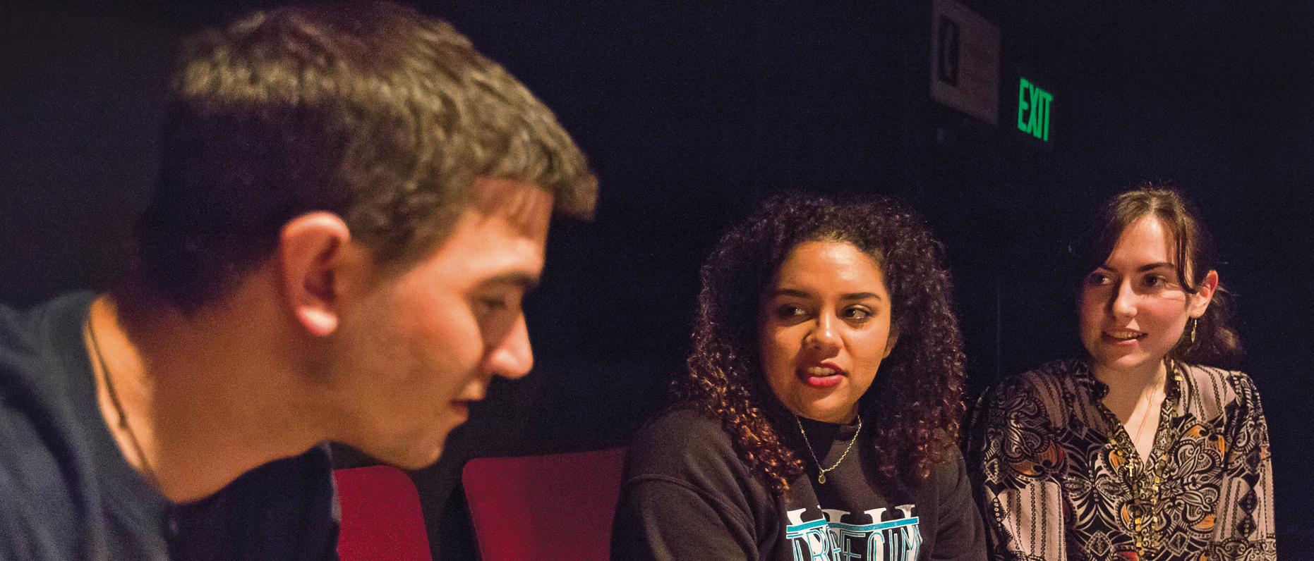 Four students design not only a play but also a career path