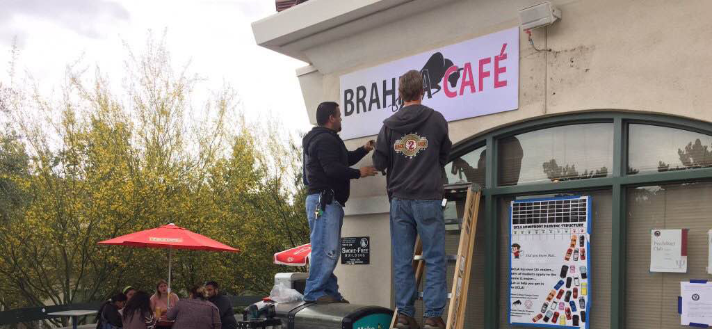Brahma Cafe on the way