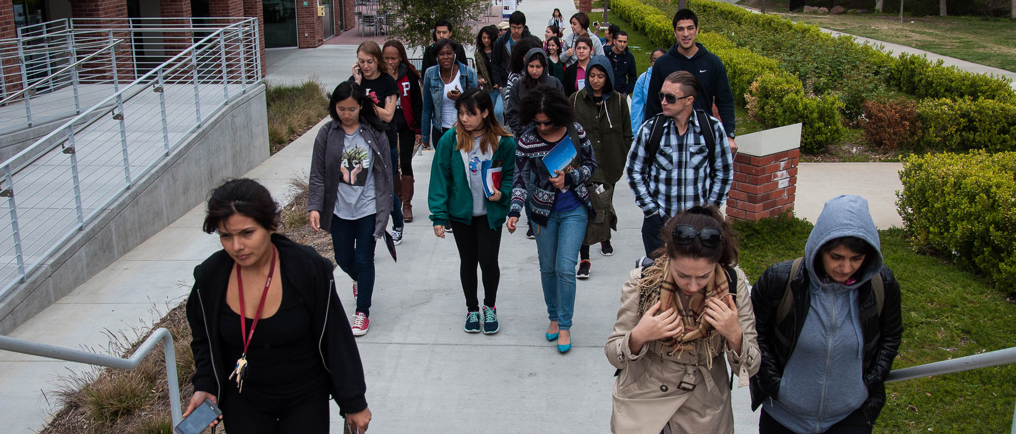 Students visit campuses on Coastal College Tour