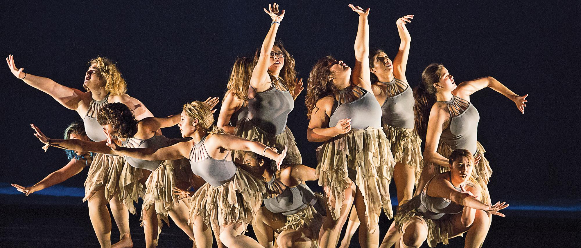 Distinct voice of dance
