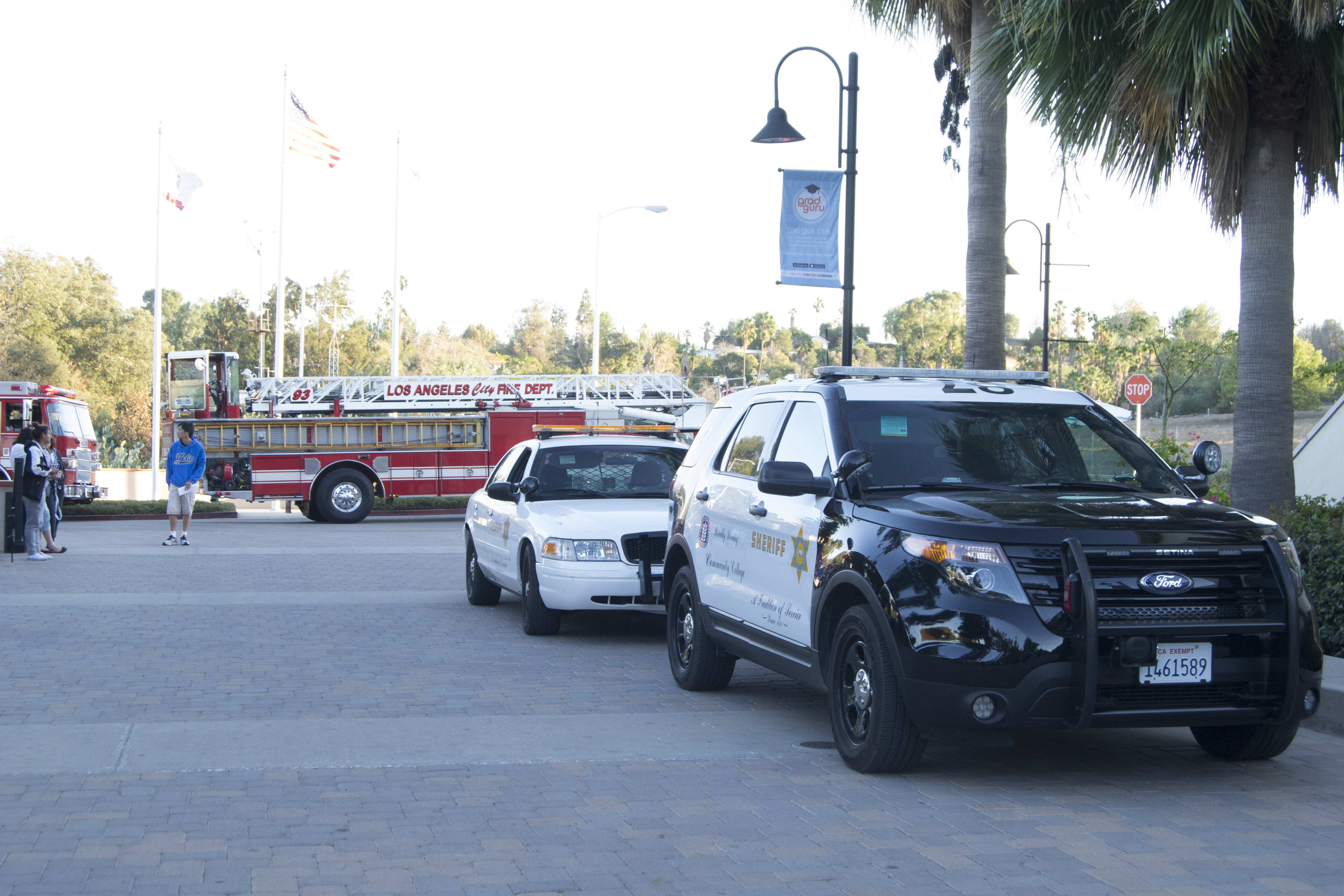 Smoke alarm goes off in Student Services Building, students and faculty evacuated