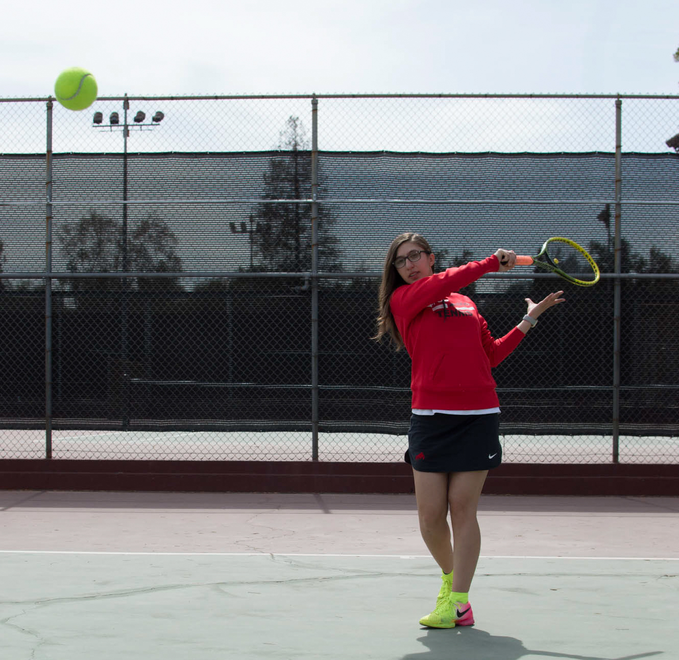 Tennis starts with (double) love