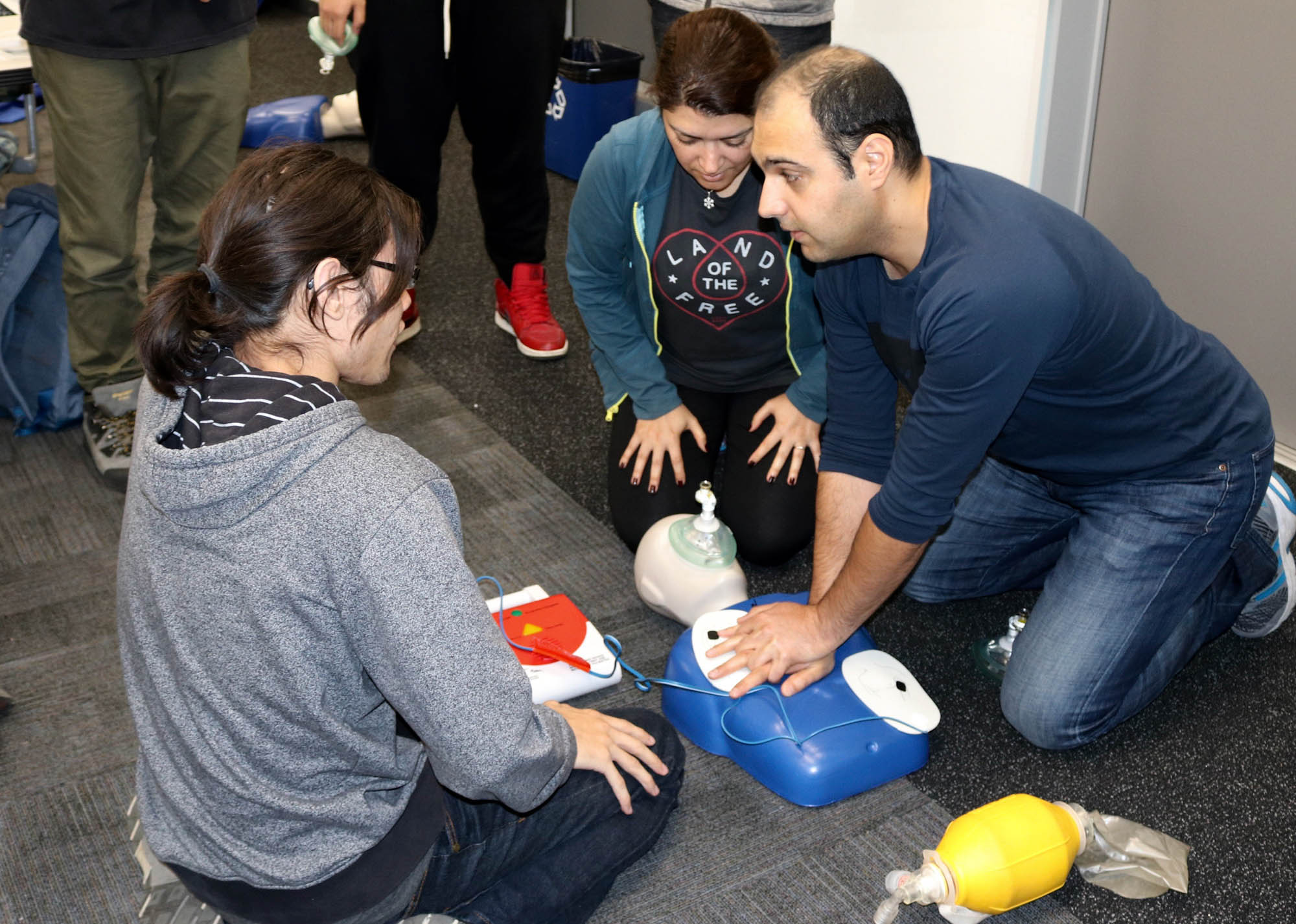 CPR training open to students