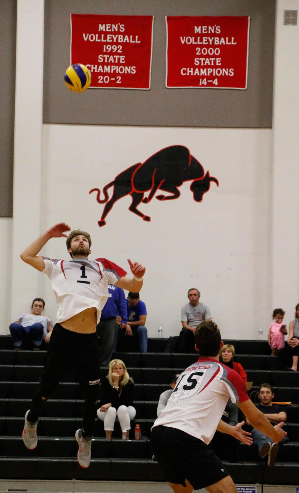 Volleyball tops El Camino in five