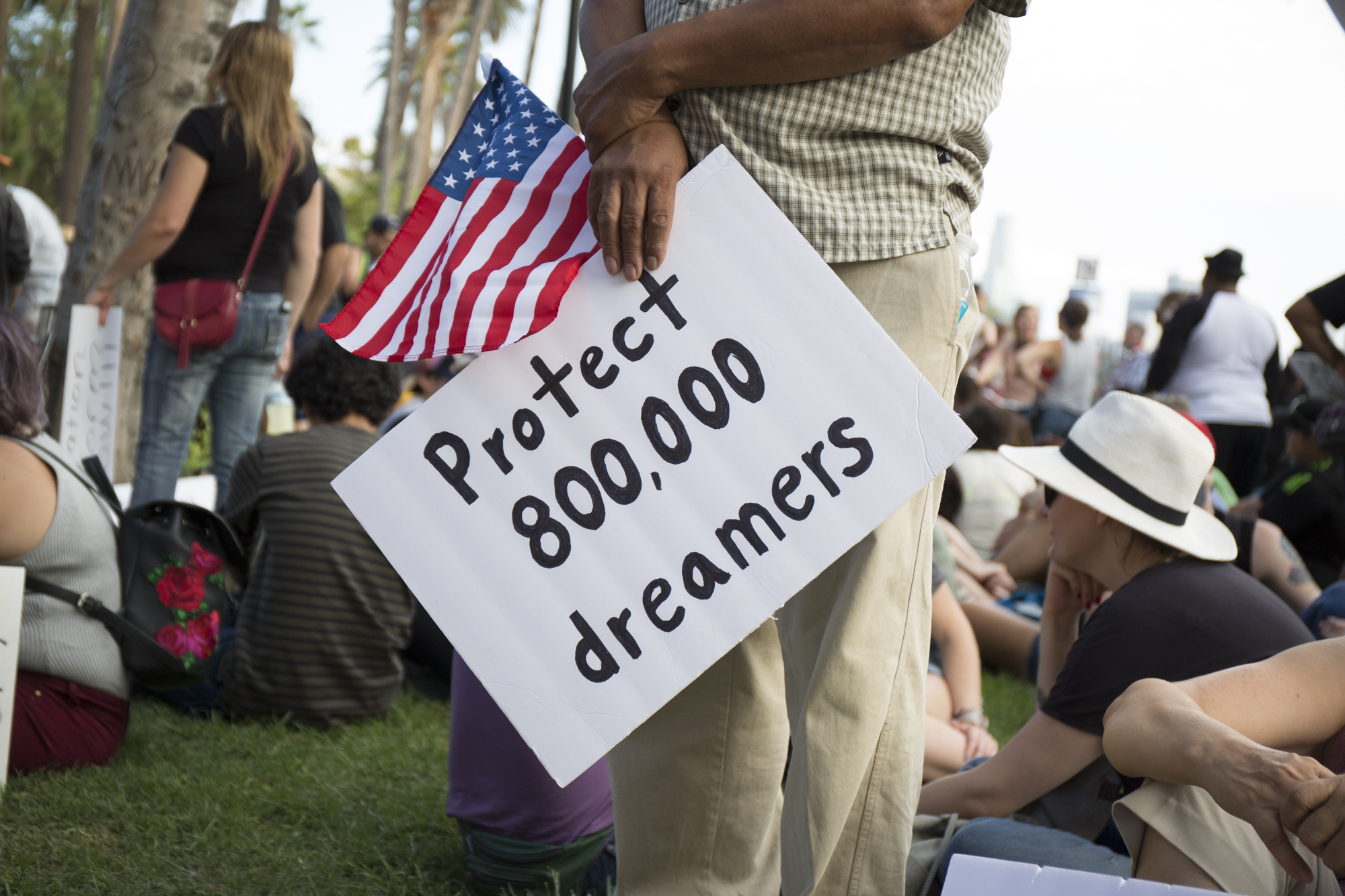 Hundreds march to protect DACA