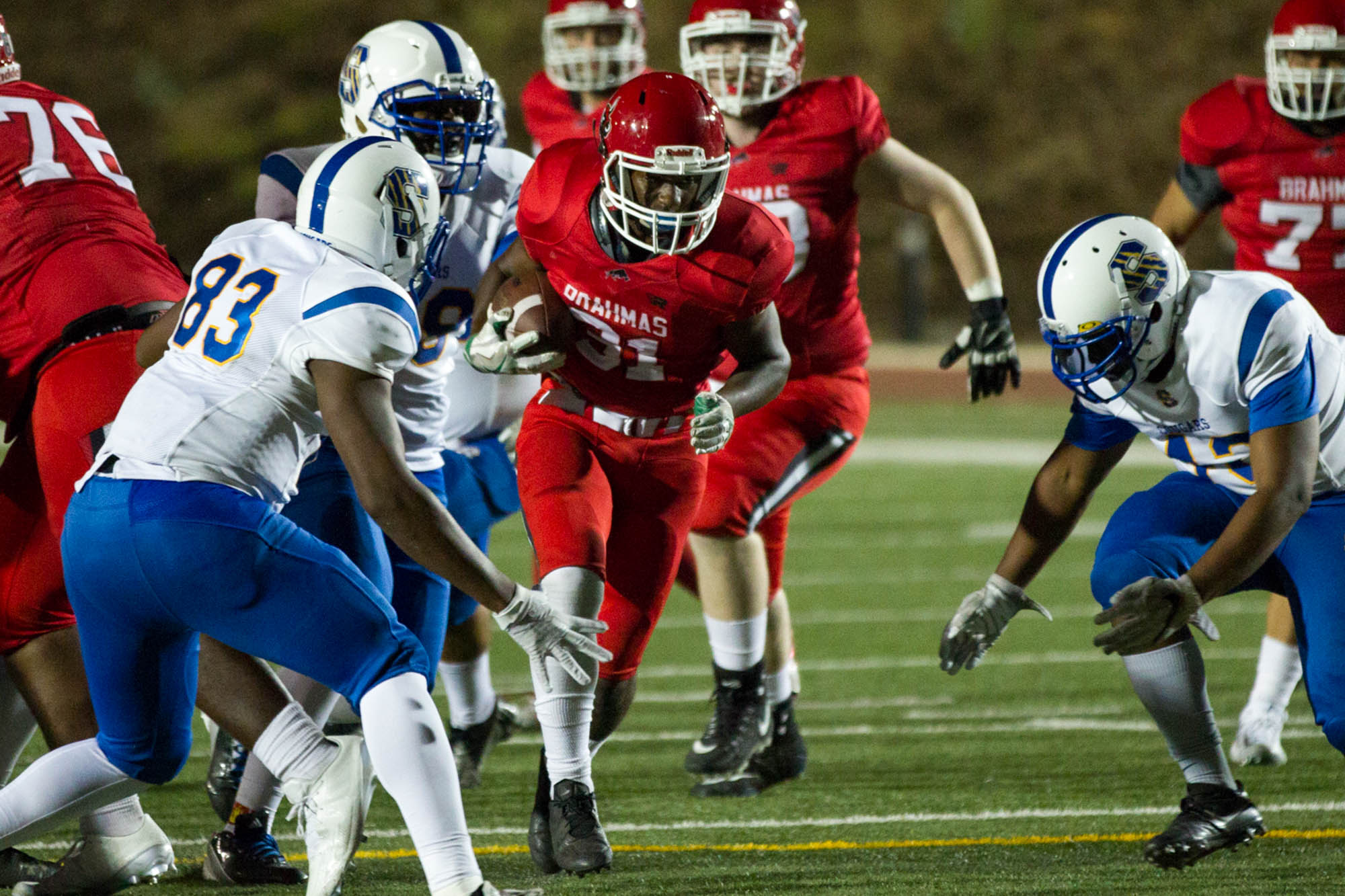 Football earns first home win since 2015