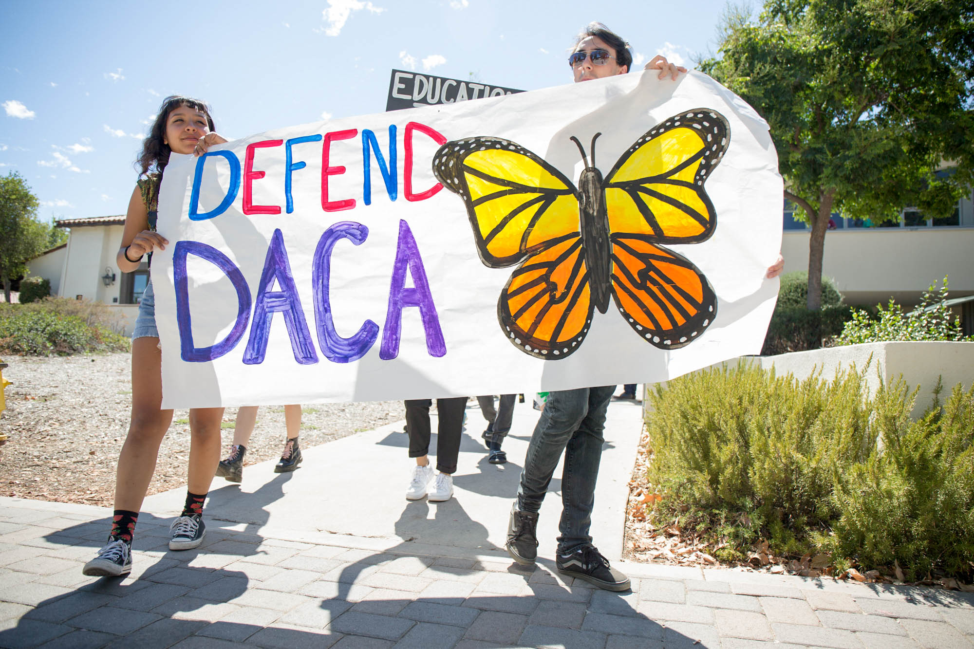 Pierce students march for DACA