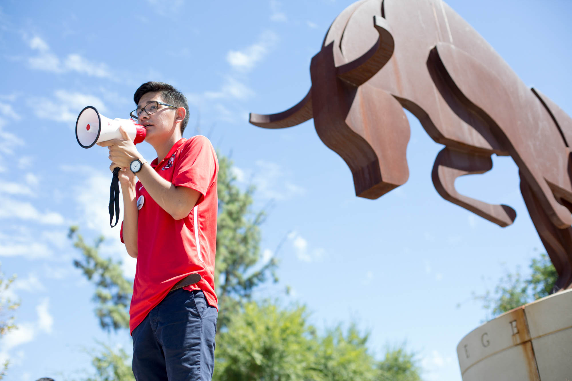 DACA student leads by example