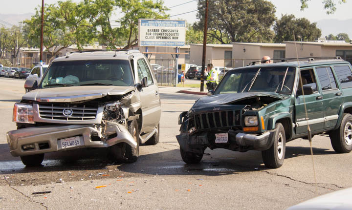 On-campus vehicle accidents rose within the last nine months