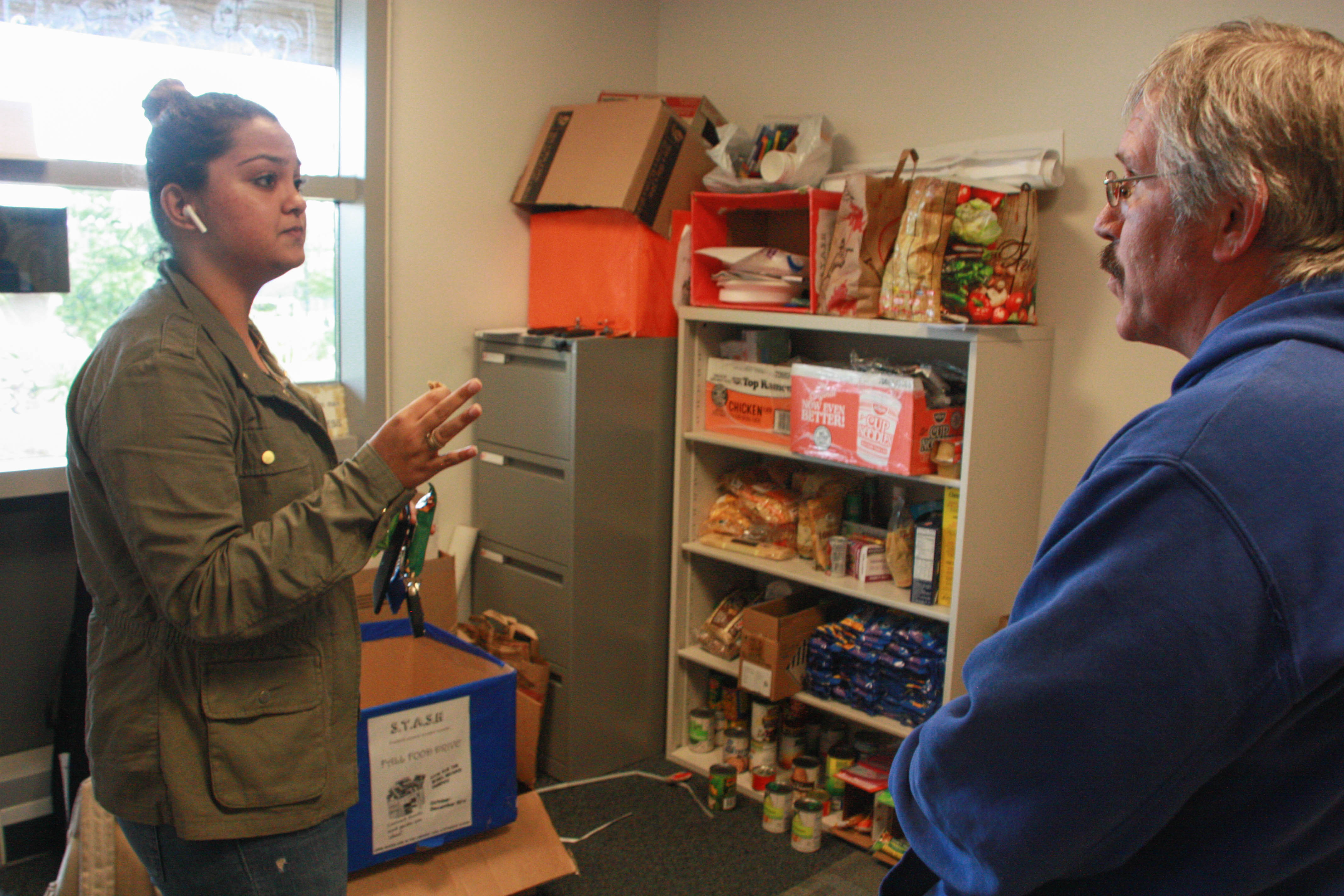 Pierce students help those in need