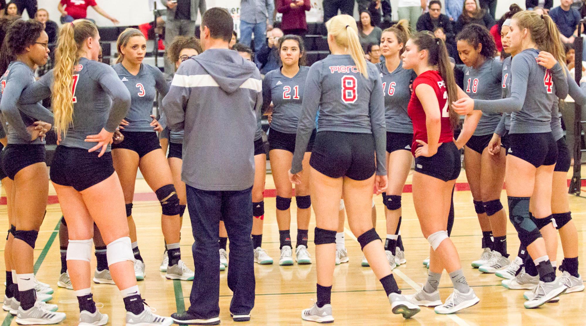 Knightfall for women's volleyball