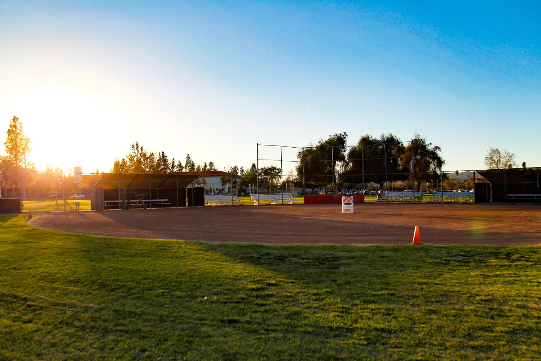 Short stop for softball