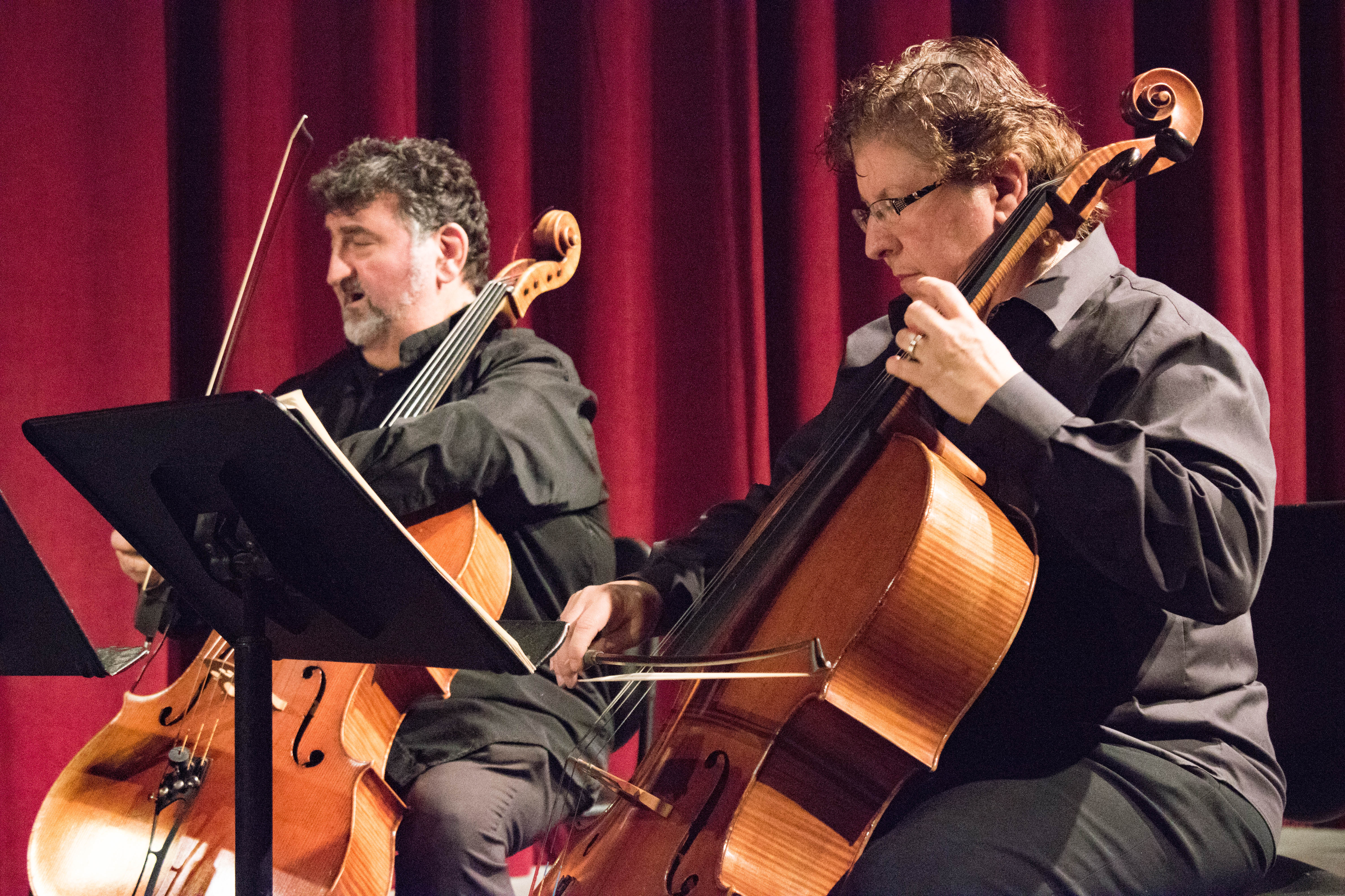 Strings and bows put on a show