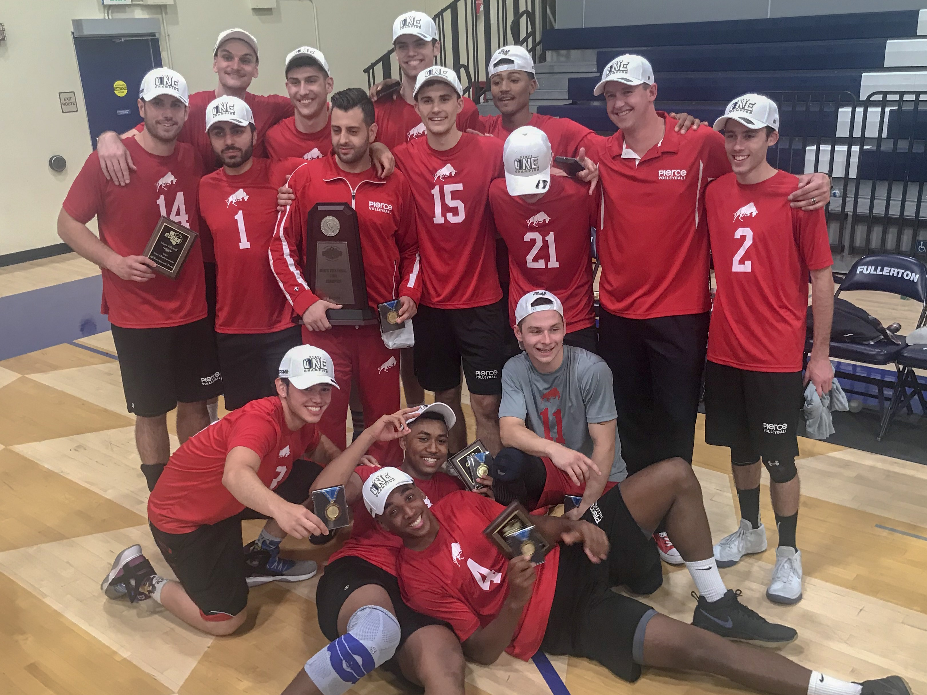 Men's Volleyball claims 2018 State Championship