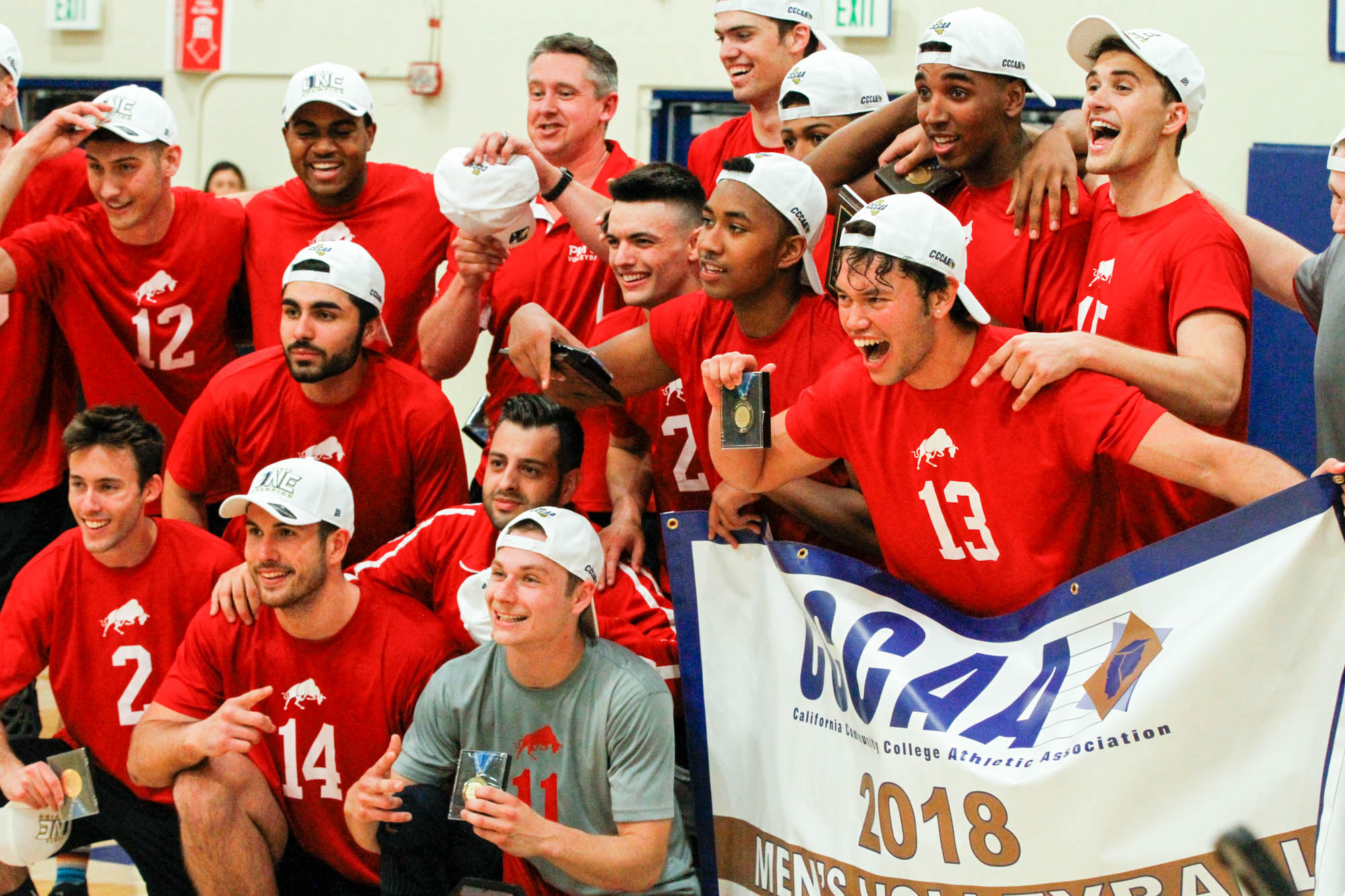 Brahmas win state title in men's volleyball